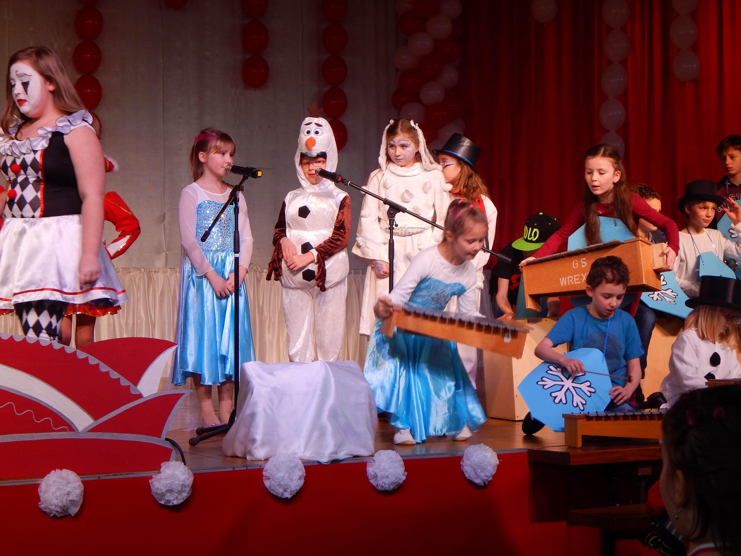 KarnevalWrexen und Schulen musizieren 001