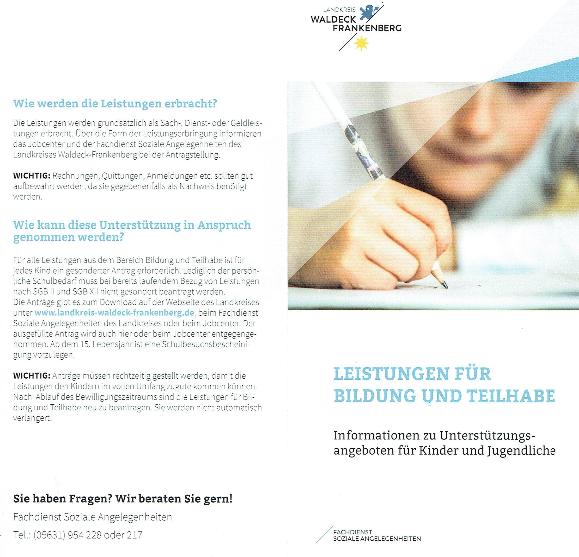 18 08 08 Flyer Bildung und Teilhabe16102018